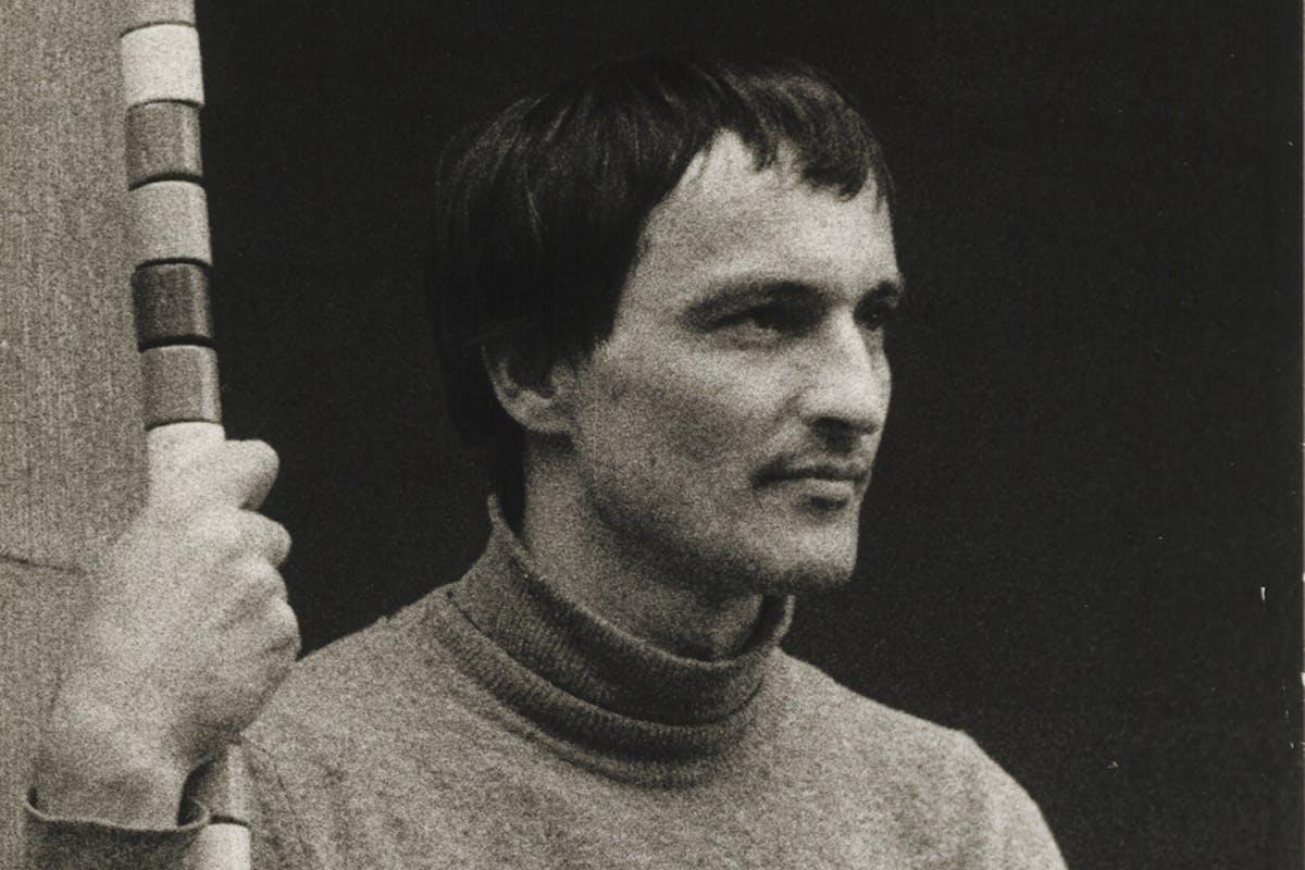 André Cadare, Gent, juni 1977. Archief ICC, Collectie M HKA. © Marc Pierret