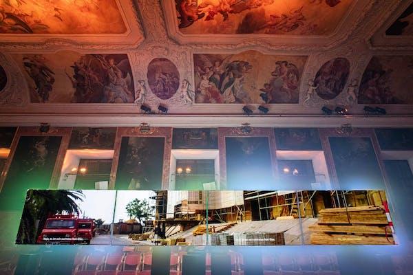 Michiel Vandevelde, Human Landscapes - Book II, Minoritensaal, Graz. – Foto (c) Mathias Voelzke