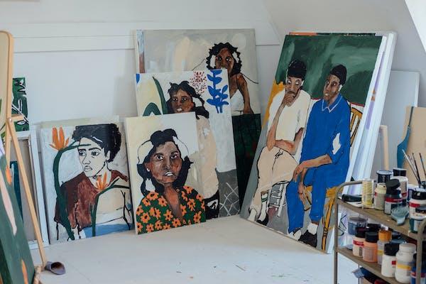 Atelier Shirley Villavicencio Pizango, foto Joselito Verschaeve