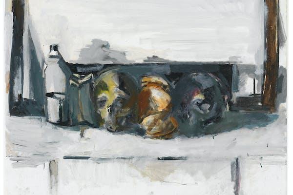 Vincent Geyskens, ' I Conformisti ', 2020, olie op doek, – foto Lieven Herreman