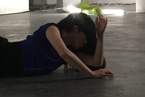 Yurie Umamoto, HRXLPNC.X, 2018, performance in CC Strombeek, foto Koen Van Synghel