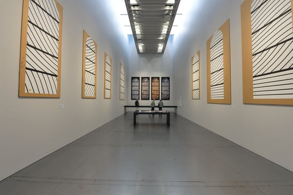 Zaal Conques, Musee Soulages, foto Koen Van Synghel