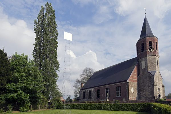 Frederic Geurts, White Square, 2019, foto Frederic Geurts – courtesy Frederic Geurts