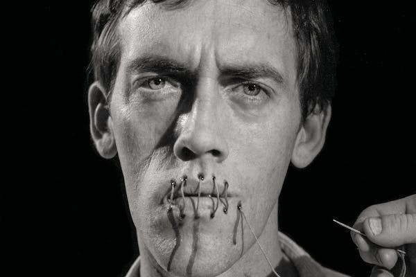 Andreas Sterzing, David Wojnarowicz (Silence = Death), New York, 1989 – photo: the artist