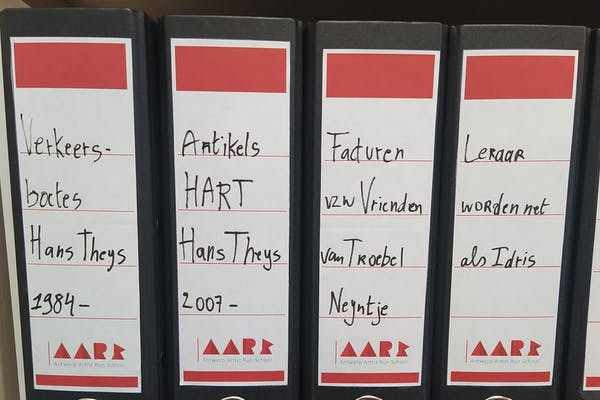 AARS archief detail, foto Troebel Neyntje