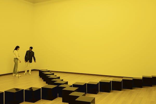 Bruce Nauman, tentoonstellingszicht, 5 juni 2021 tot 24 oktober 2021, Stedelijk Museum Amsterdam, – foto Peter Tijhuis