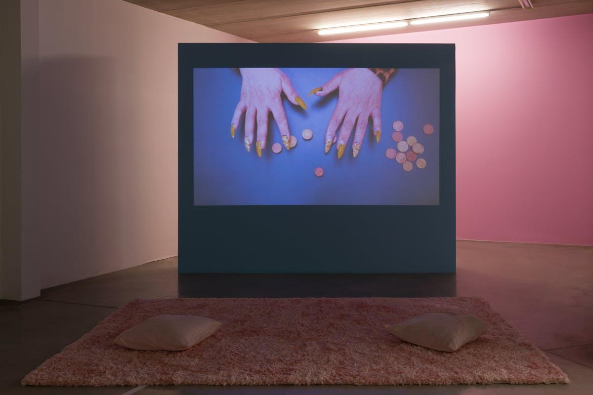Gestures of Matter , 2020, video, © Lola Pertsowsky