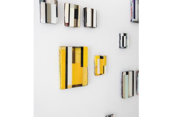 Stefan Annerel, opstelling 'Arranged Fragments', – © Dewael 15