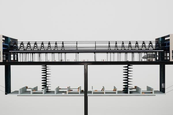 Le Musée et son Double, maquette CRIT. architecten, 2020. Foto: Dirk Pauwels